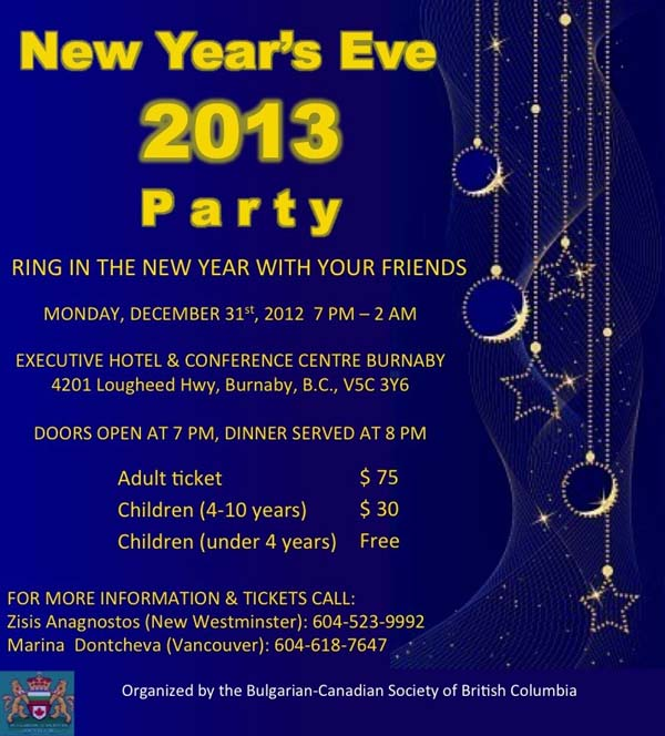 New Year's Eve 2013 Party