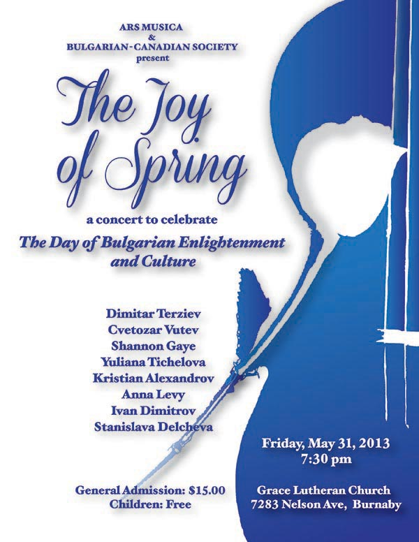 The Joy of Spring Concert - May 31, 2013